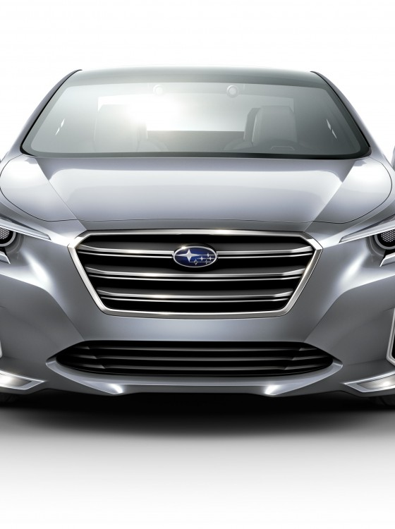 Subaru Wrx Custom >> 2015 Subaru Legacy Concept Bows at LA Auto Show - The News ...