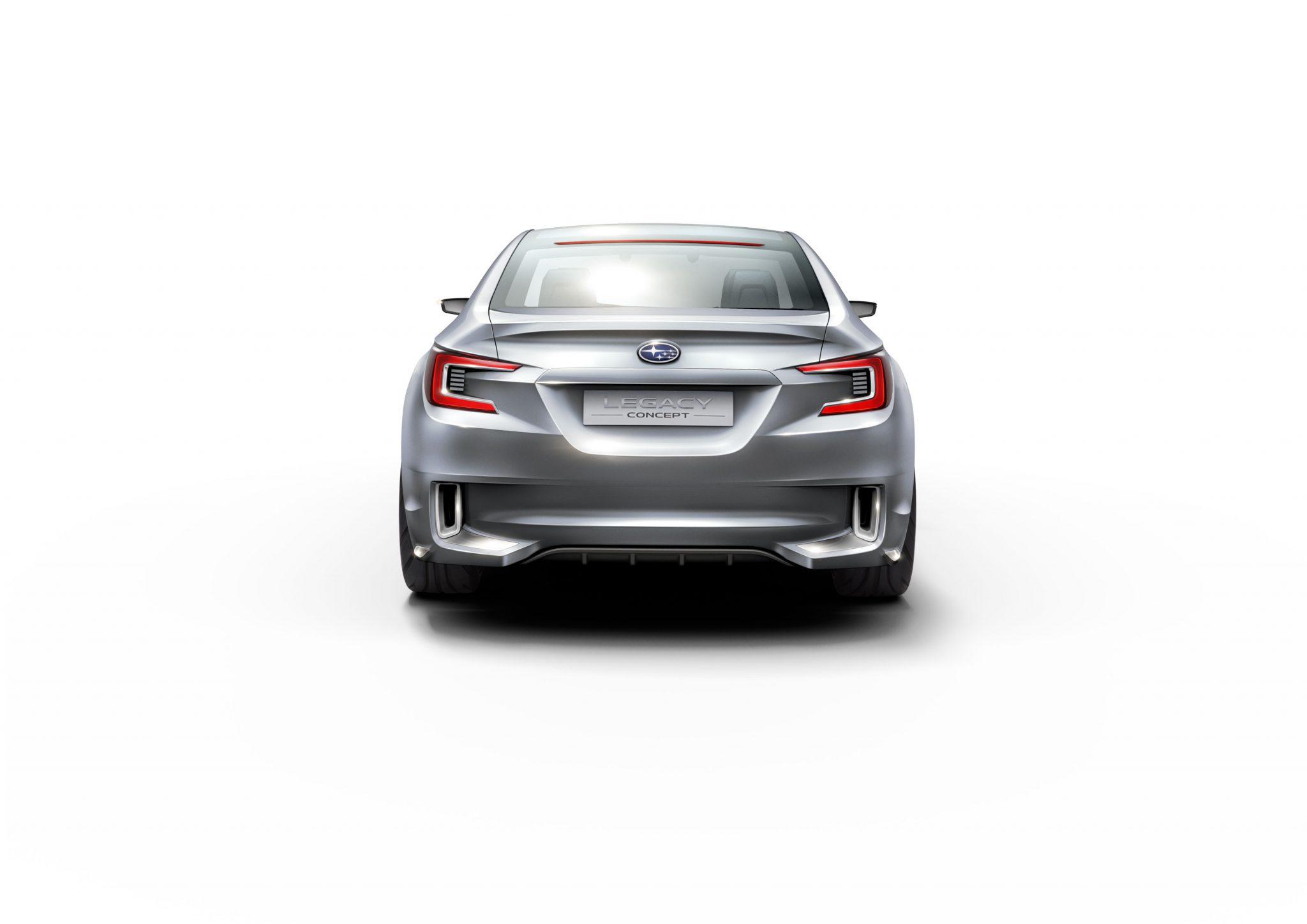 2015 Subaru Legacy Concept rear bumper