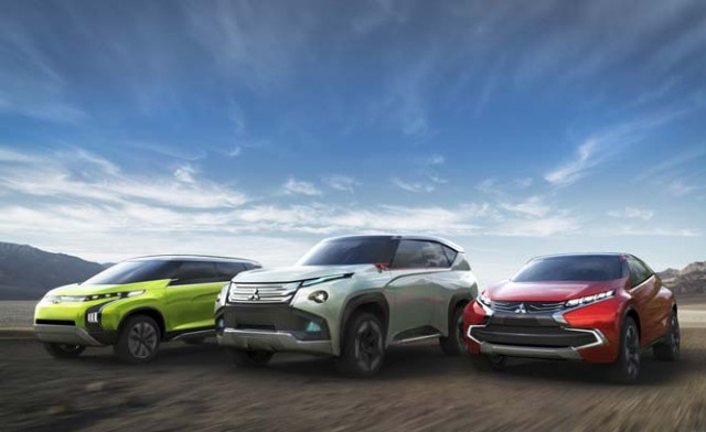 Mitsubishi Hybrid Concepts