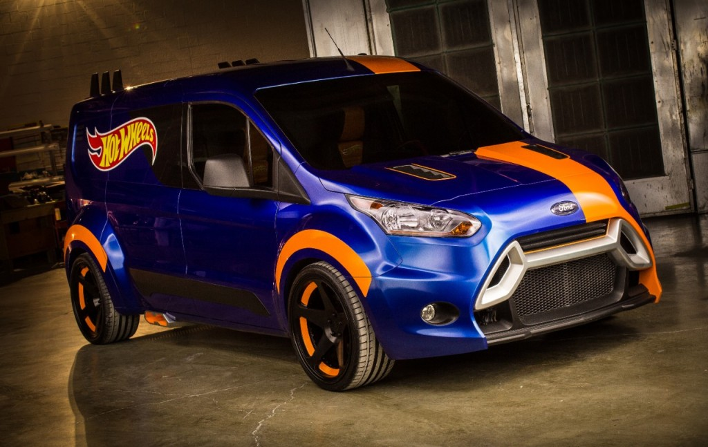 Customized Ford Transit Connect