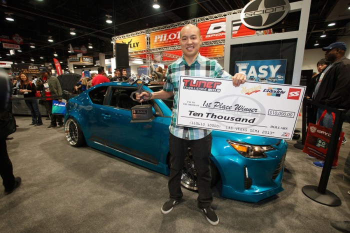 Winner of the 2013 Scion Tuner Challenge