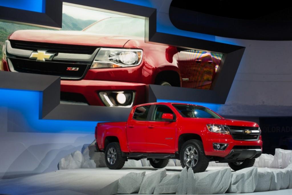 2015 Chevrolet Colorado debut