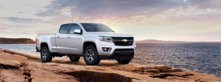 Chevrolet Colorado, sporting the most popular color in the world