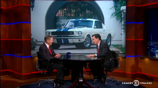 Ford CEO on Colbert Report