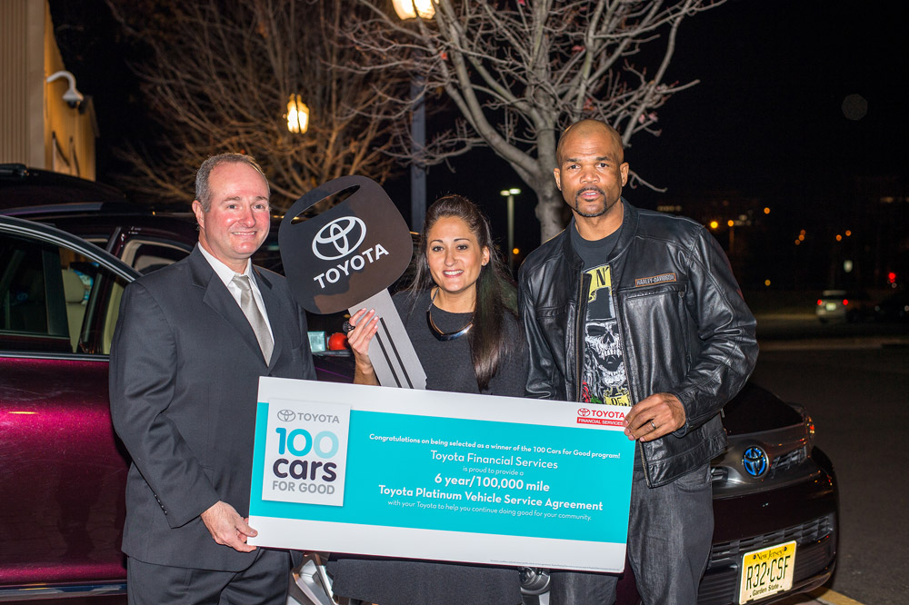 Toyota's 100 Cars for Good Campaign