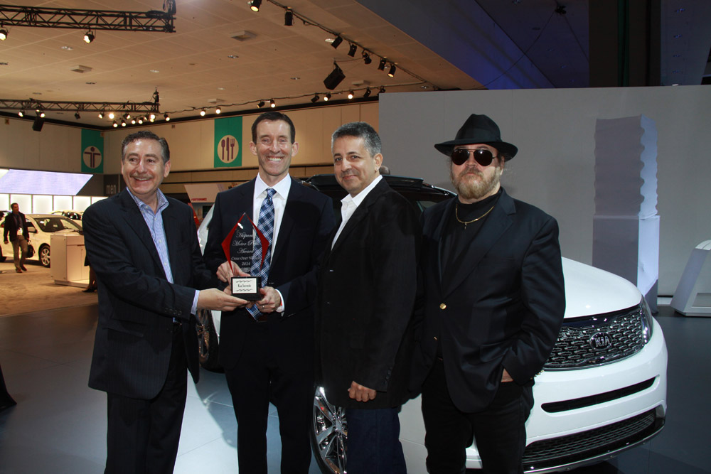 Kia Sorento Named Top 10 Cars of the Year