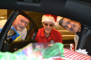Veterans at Chrysler Christmastime Charity Donations