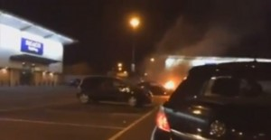 Idiotic Paul Walker Tribue Ends in an Engine Fire