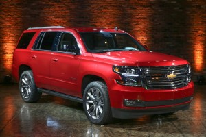 2015 Tahoe and Suburban color
