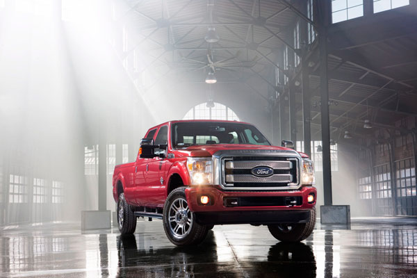 Ford and Parkopedia - Ford Super Duty