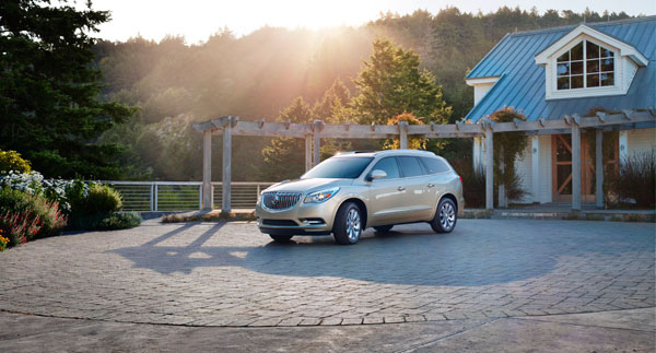 2014-Buick-Enclave-Overview