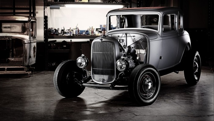 1932 Ford F-5 Window Coupe