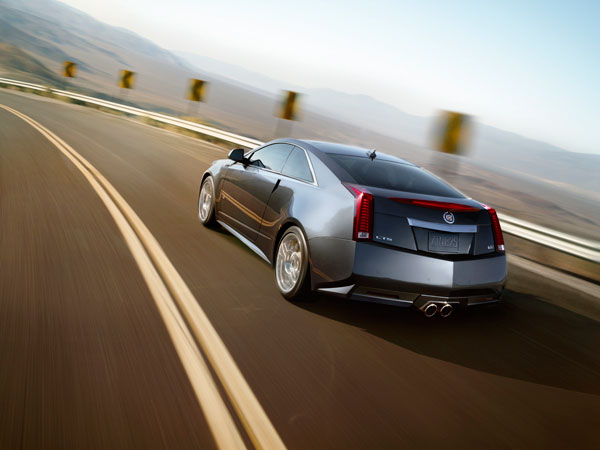 2014 Cadillac CTS-V Coupe Overview