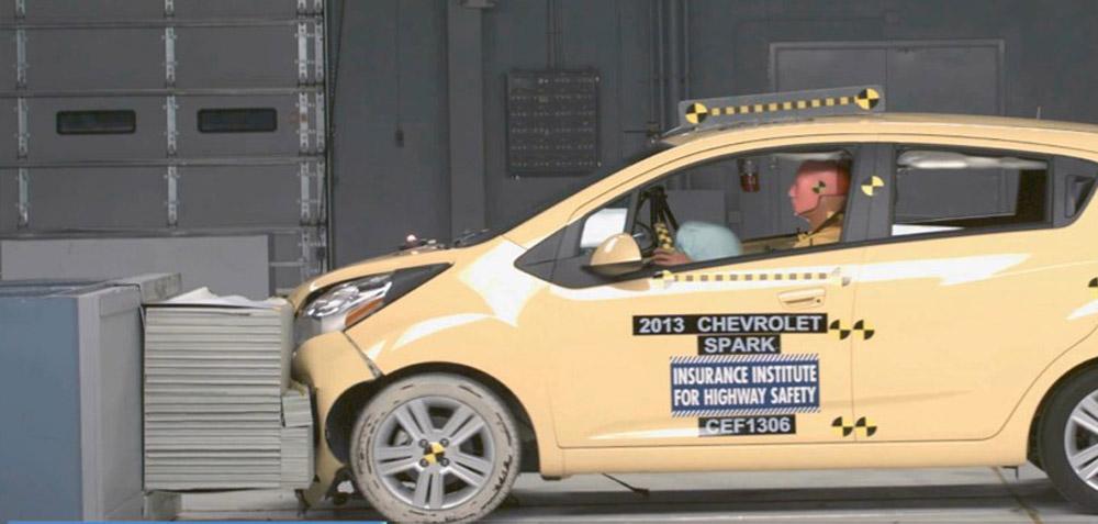 2014 Chevrolet Spark Top Safety Pick