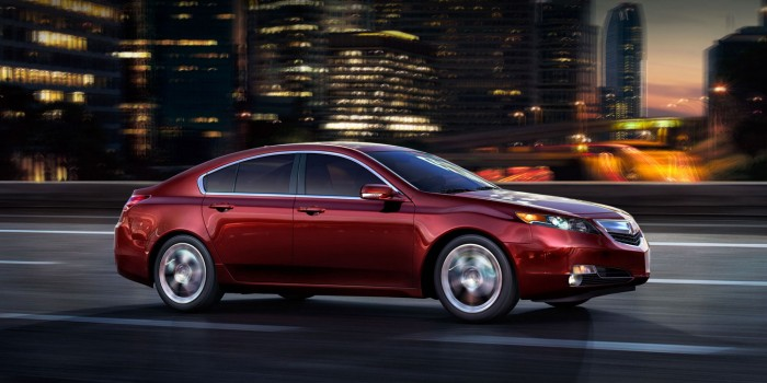 2014 Acura TL Overview
