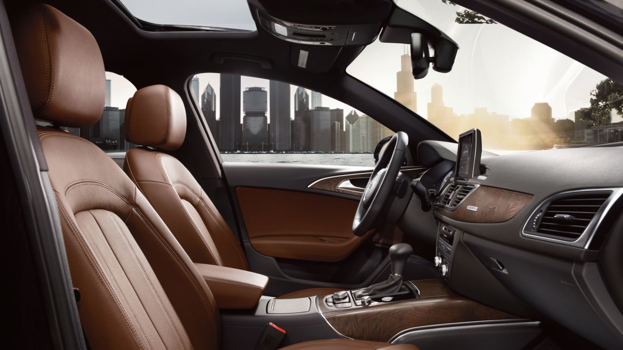 2014 Audi A6 Nougat Brown Leather 2 The News Wheel