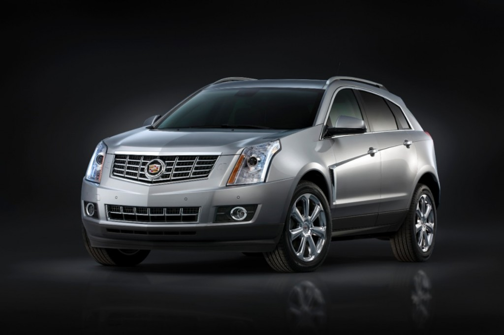 The 2014 SRX is one of the new models that Cadillac and Uber will be showing off thanks to some collaboration.