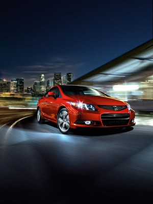2014 Honda Civic Coupe Overview: Exterior