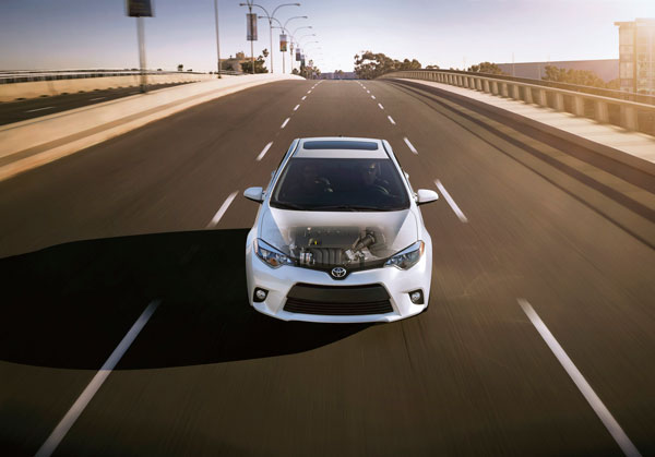2014 Toyota Corolla Overview : Performance