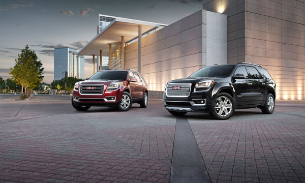 2014 GMC Acadia Overview
