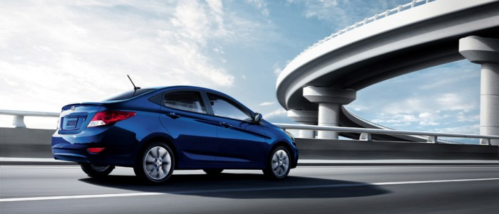 The 2014 Hyundai Accent led the charge for Hyundai's April Sales.