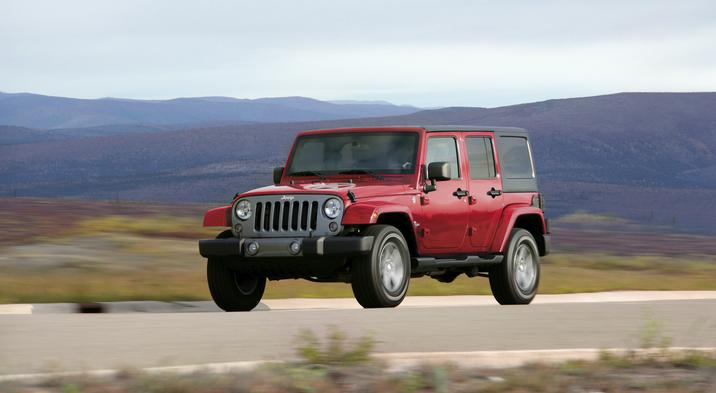 Blue Book Value Trucks >> 2014 Jeep Wrangler and Dodge Challenger Nab Best Resale Value Awards - The News Wheel