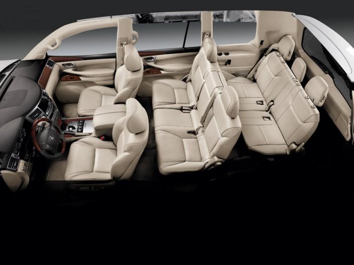 2014 Lexus LX Overview