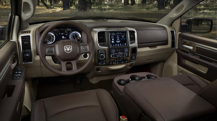 2014 Ram 1500 Mossy Oak Edition Interior