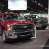 General Motors NAIAS Display: Chevy NAIAS Silverado