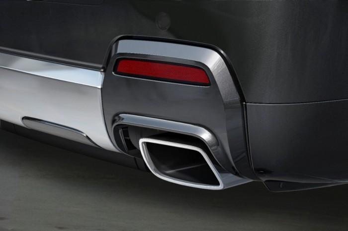 2014 Terrain Denali chrome exhaust