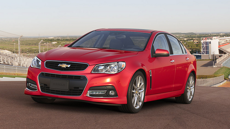 2014 chevy SS Overview