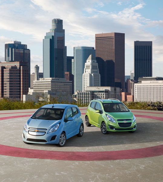2014 Chevy Spark Overview