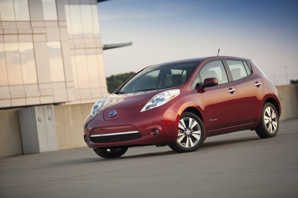 pricing for 2014 Nissan LEAF announced