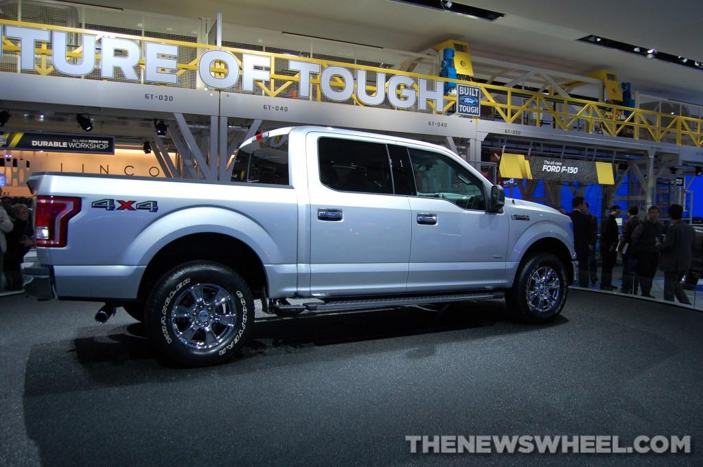 Ford NAIAS display: F-150