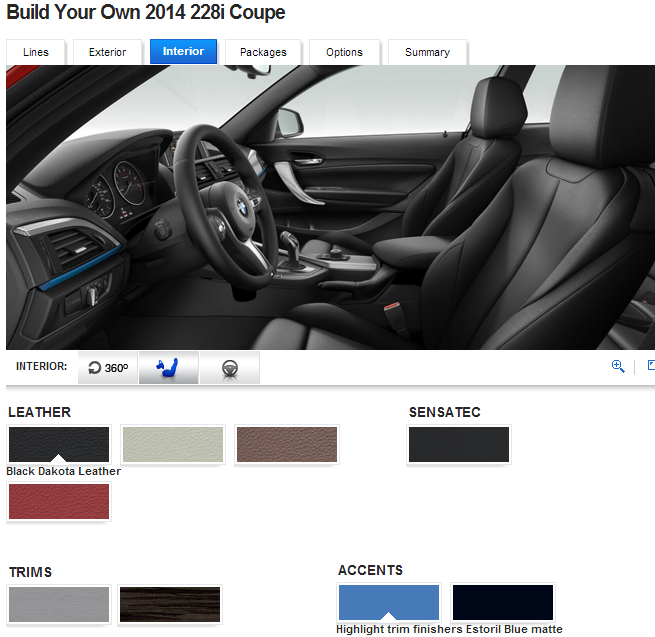 Bmw Unleashes 2014 2 Series Configurator For 228i And