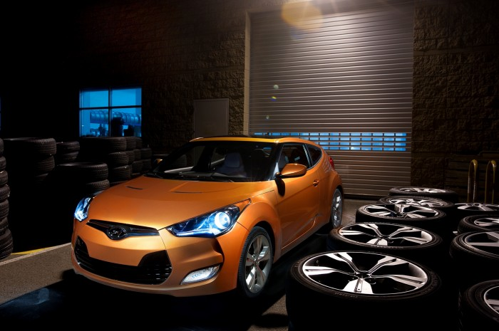 The Polk Automotive Loyalty Award was handed out to the 2013 Hyundai Veloster at NAIAS.