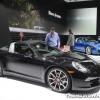 Porsche NAIAS display: 911 Targa 4S