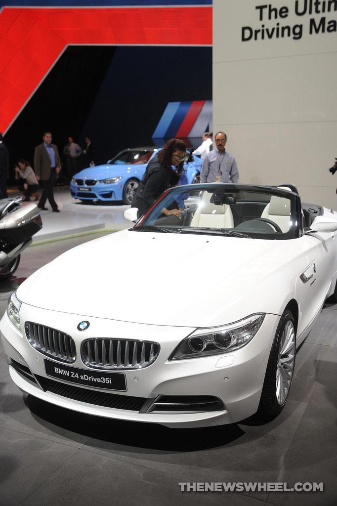 NAIAS Luxury Car Seats: BMW Z4 sDrive35i