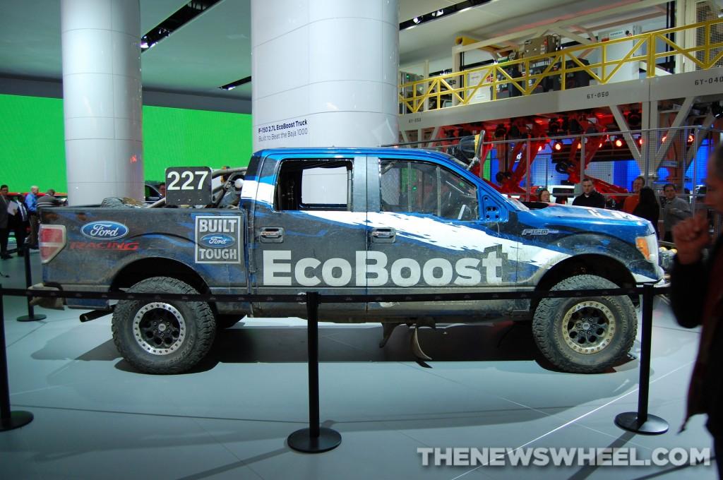 Ford NAIAS display: Baja 1000 F-150