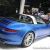 Porsche NAIAS display: 911 Targa 4