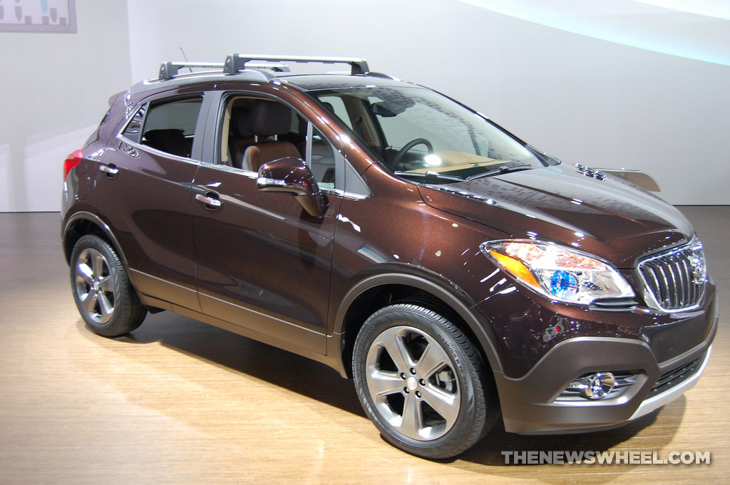 General Motors NAIAS Display: Buick NAIAS Encore