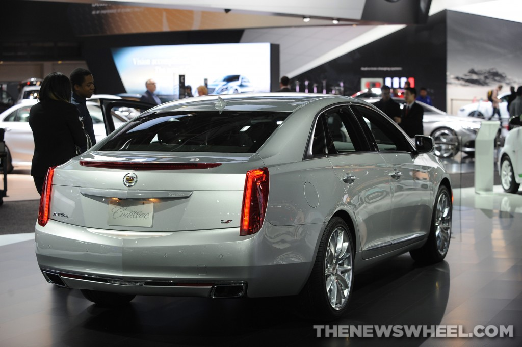 NAIAS Luxury Car Seats: Cadillac XTS