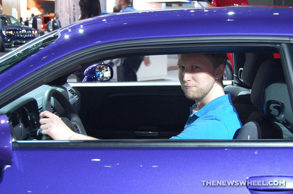 Chrysler NAIAS Display: Dodge NAIAS Challenger SRT Core