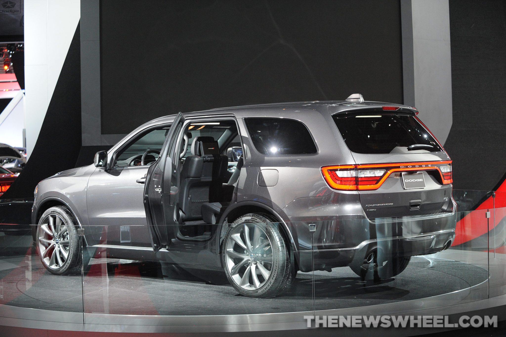 Chrysler NAIAS Display: Dodge NAIAS Durango