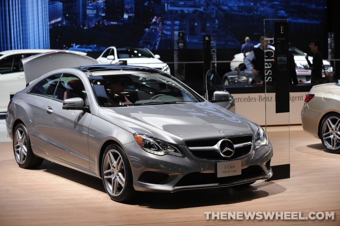 Mercedes-Benz NAIAS display: E-Class 4MATIC Coupe