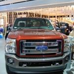 Ford NAIAS display: Super Duty