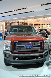 Ford NAIAS display: Super Duty
