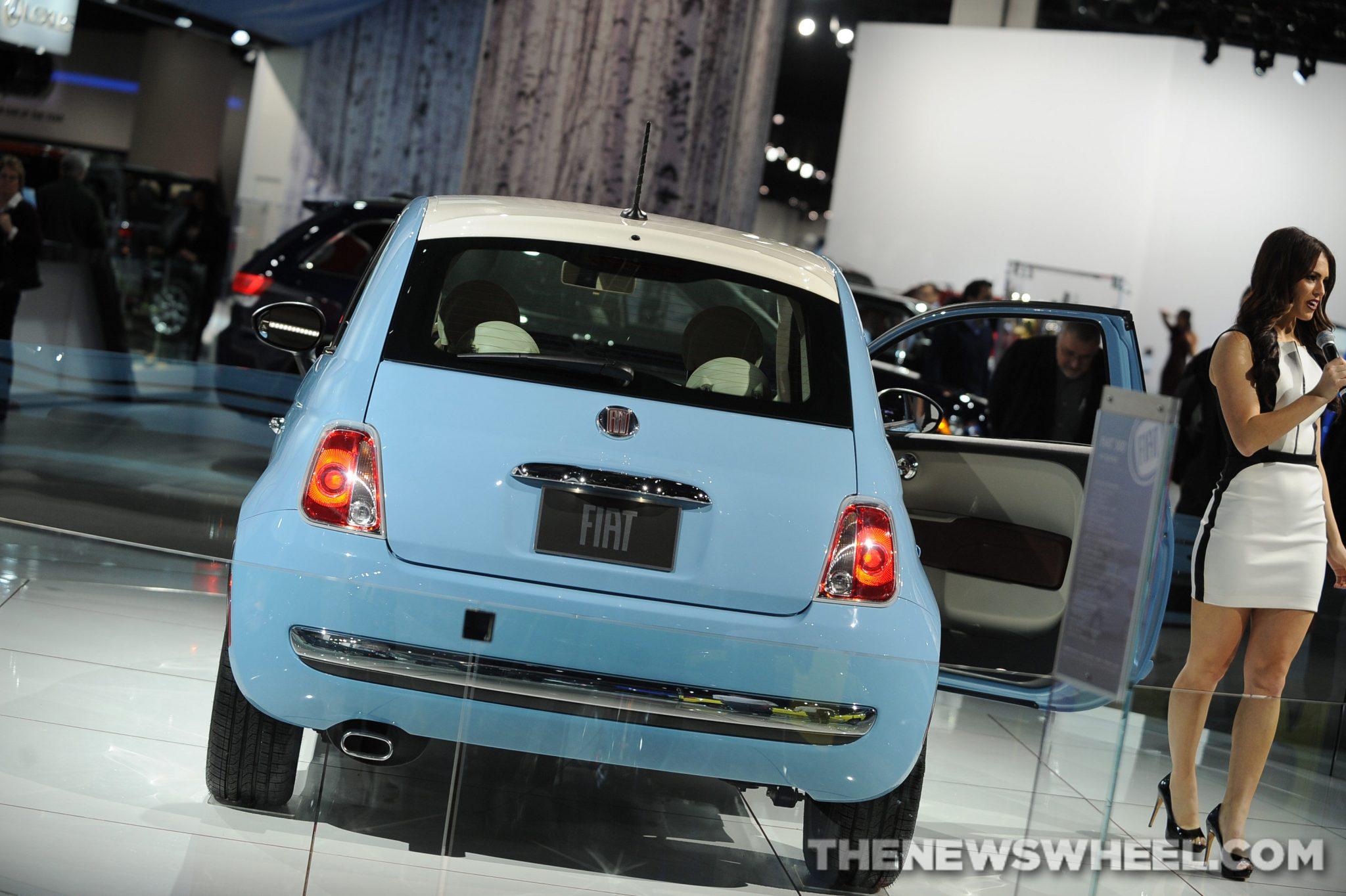 Chrysler NAIAS Display: Fiat NAIAS