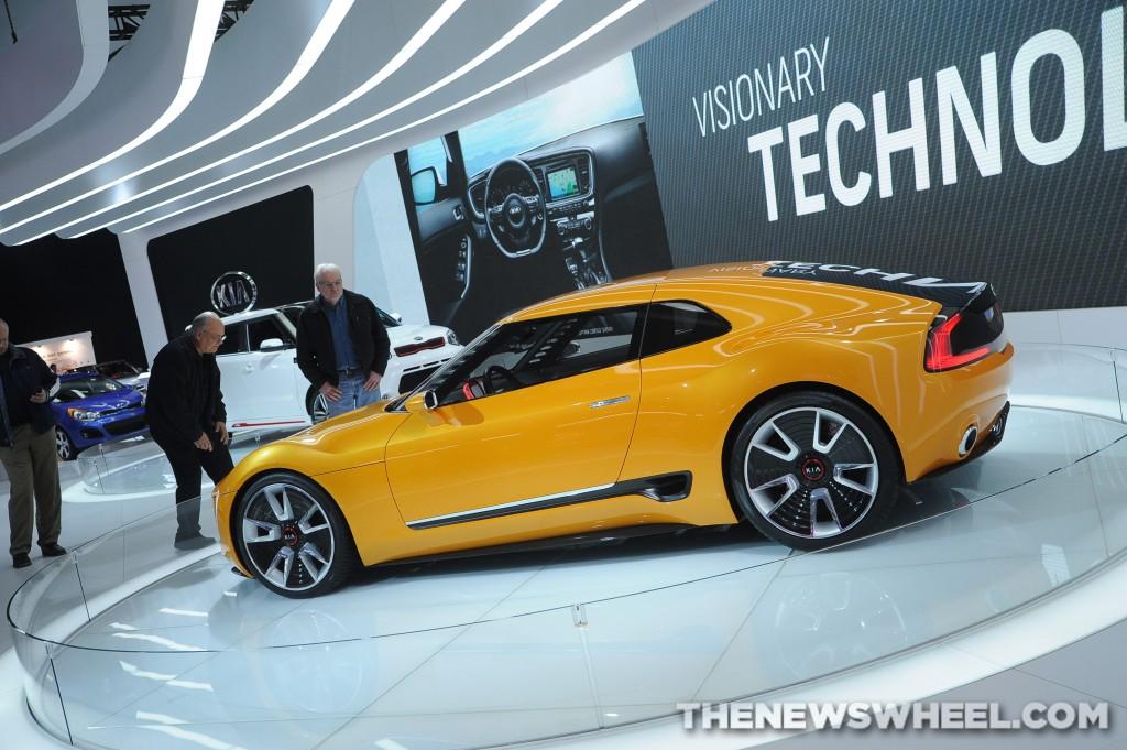 Kia at Geneva Motor Show 2014 GT4 Stinger