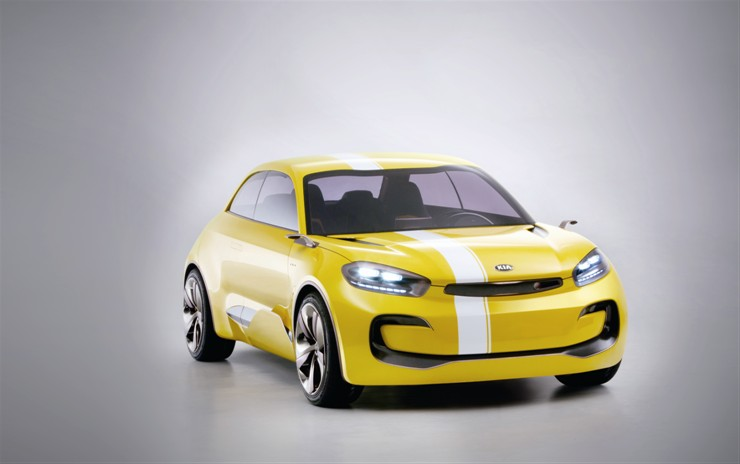 Kia's KND-7 Concept is small, sleek and sporty.